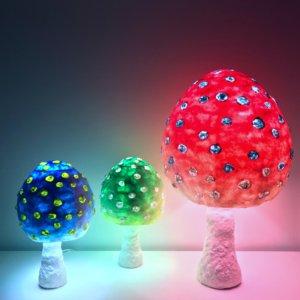 Mushroom Lamp パルプアートのきのこランプ 2017mp きのこLamp