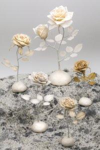 サンドローズ 和紙の薔薇