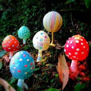 Mushroom Lamp きのこランプ