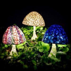 Mushroom Lamp  パルプアートのきのこランプ