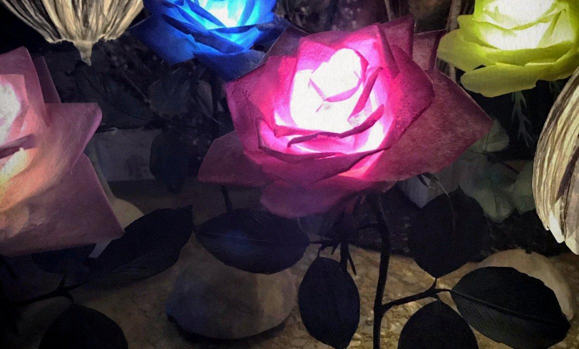 パルプアートの灯り