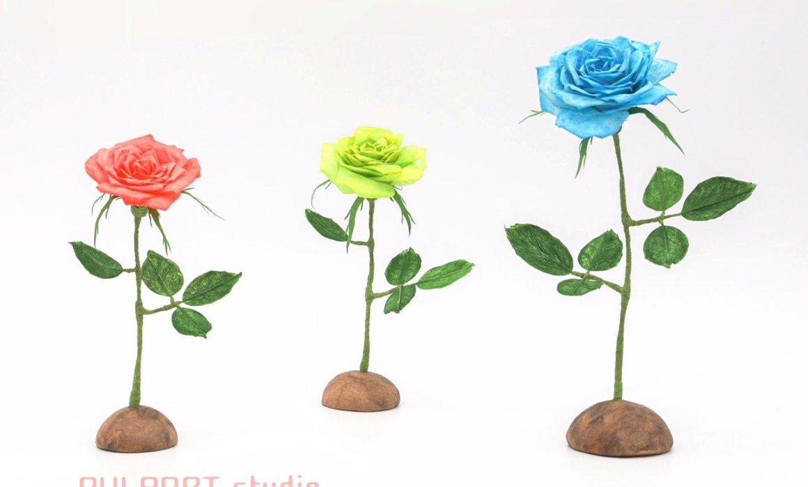 Japanesepaper Rose